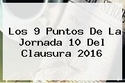 http://tecnoautos.com/wp-content/uploads/imagenes/tendencias/thumbs/los-9-puntos-de-la-jornada-10-del-clausura-2016.jpg Jornada 10 Liga Mx 2016. Los 9 puntos de la Jornada 10 del Clausura 2016, Enlaces, Imágenes, Videos y Tweets - http://tecnoautos.com/actualidad/jornada-10-liga-mx-2016-los-9-puntos-de-la-jornada-10-del-clausura-2016/