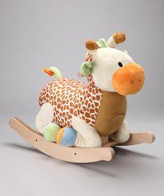 Raffi Giraffe Rocker by Rockabye on #zulily today!