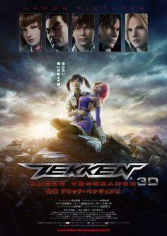 Tekken: Blood Vengeance official poster - tekken Photo