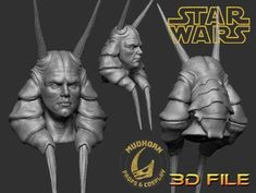 3D File -Life-size Bust - Mas Amedda - Star Wars 1:1 Statue Star Wars Sith, Galactic Republic, Cosplay Armor, Dark Lord, Star Wars Characters, Best Cosplay, Tmnt, 3d Printing, Marvel