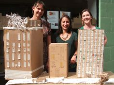 cardboard city Cardboard City, Puppet Show, Art Club, School Projects, Architecture Art, Photo Shoot, Cities, Buildings, Crafts For Kids