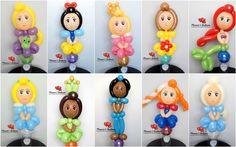 disney princess candy cups Balloon Sword, Balloon Hat, Love Balloon, Balloon Flowers, Balloon Animals, Princess Balloons, Disney Balloons, Balloon Columns, Balloon Arch
