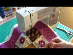 Free motion quilting - would love to learn to do this!