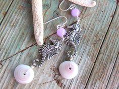 Love these Loke Kai ( Sea Rose) Puka Shell Earrings. $22.00, via Etsy.