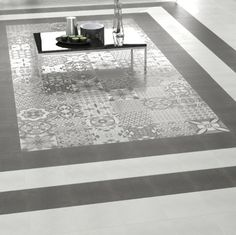 Vintage Patchwork White Base Tiles 24x24cm                                                                                                                                                                                 More