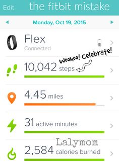 fitbit not tracking steps on iphone
