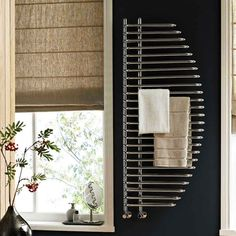 Turn your wall into a beautiful contemporary feature with this stunning modern radiator #radiator