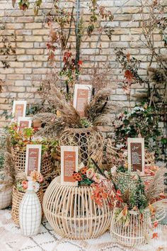 Modern Black Tie Bohemian Meets Rustic Fall Wedding at Terrain Gardens - Green Wedding Shoes Fall leather inspired seating chart with pampas grass and rattan Seating Chart Wedding, Seating Charts, Wedding Table, Fall Wedding, Rustic Wedding, Green Wedding, Wedding Ideas, Wedding Reception, Diy Wedding