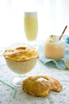 Spiked Pie Milkshakes: Apple, Banana Cream and Pumpkin | Here in Georgia, we're still enjoying our milkshakes. And they taste like fall. They taste like pumpkin spice and apple pie and mulled whiskey and dozing off by the Netflix yule log. | From: knucklesalad.com
