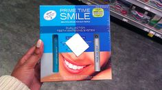 """I did a bit of browsing on the Prime Time Smile site before I shopped in-store and thought that the DUAL ACTION SYSTEM would be best for my needs. The system includes a Pre-Treatment whitening pen and a Teeth Whitening gel pen. I like the idea of a pen, and that there wasn't anything messy, too difficult to apply, or something that would be too difficult for every day use."" #DRSmile #cbias"