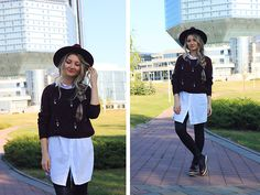 Get this look: http://lb.nu/look/7760714  More looks by ♡Anita Kurkach♡: http://lb.nu/anitakurkach  Items in this look:  Sheinside Hat, Sheinside Sweater, Sheinside Shoes   #bohemian #casual #preppy