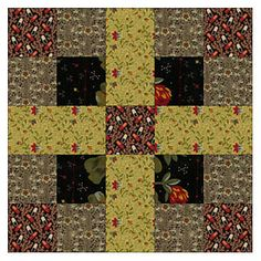 Love Civil War Quilts? Sew Vintage Chains with Reproduction Fabrics: Finish Five-Patch Chain Quilt Blocks