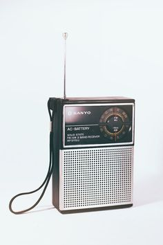 "Vintage Radio by ""Les Folies Retro""."