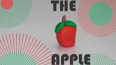 How to make a Apple with clay!!!