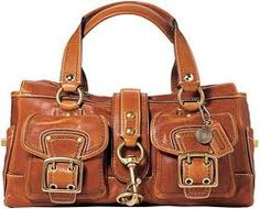 Coach...way too expensive, but love the look of this bag.