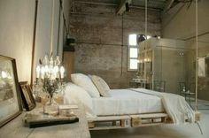 Suspendez votre chambre à un décor industrielle chic. www.entreprise-cochet.fr