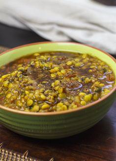 Dal Tarka - Curry mit dreierlei Hülsenfrüchten