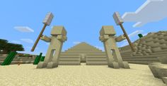 minecraft pyramid mod | Explore the Ancient Pyramid!