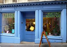 K1yarns, edinbourgh, scotland, awesome store! and they have tea too! rp:Scottish Knit Shop