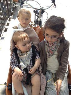 kids in the cargobike