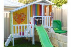 Duplex (customised) | Modern Cubby House