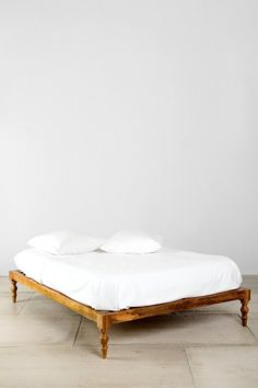 """""""Magical Thinking Bohemian Platform Bed""""...fancy words for what looks like a traditional indian 'manja'/bed...;)"""
