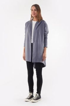 Wardrobe Basics, Wardrobe Staples, Colored Denim, Layered Look, Latest Fashion Trends, Stylish Outfits, Hoods, Normcore, Clothes For Women