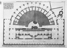 The Round Tower, plate III from `Carceri d`Invenzione` - Giovanni Battista Piranesi - WikiArt.org