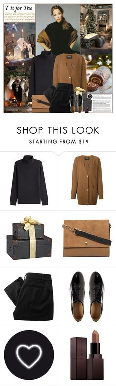 """""""Britannia Christmas (T is for Tree)"""" by kittyfantastica ❤ liked on Polyvore featuring Vince, Markus Lupfer, Dorothy Perkins, Vivienne Westwood Red Label, French Connection, Seletti and Laura Mercier"""