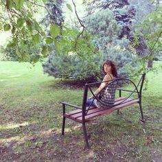 In the Garden. Saint-Petersburg. Russia.