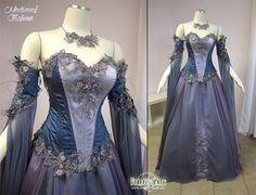 Blue amazing dress