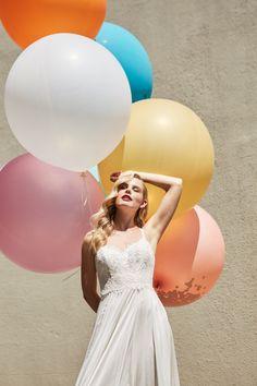 MOIRA HUGHES, THE NEW ERA // #wedding #realwedding #realbride #bride #weddingplanning #weddinginspiration #bridalgown #weddingdress #fashion #customdesign #style #australianwedding #aussiewedding #bridalboutique #MoiraHughes #MoiraHughesCouture #MoiraHughesBridal Big Round Balloons, Bridal Gowns, Wedding Dresses, Bridal Boutique, Color Photography, Fashion Shoot, Bridal Style, White Dress, Wedding Inspiration