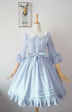 想摘星星的猫*原创刺绣lolita连衣裙*【姬袖版】(二团)【尾款】
