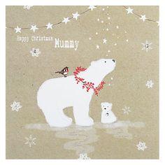 Buy Hammond Gower Polar Bear & Cub Christmas Card Online at johnlewis.com