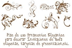 Ornamentos Para Diseñar Tus Invitaciones En Png 1bl7b9 Bodas