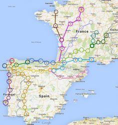 Useful practical information to help you prepare for your Camino de Santiago trip