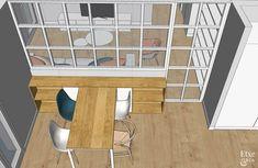 Luz y oxígeno Architect Design House, House Design, Ideas Hogar, Kitchen Room Design, Temporary Wall, Future House, Sweet Home, Layout, Cool Stuff