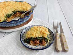 Vandaag op mijn blog het recept voor deze heerlijke spinazie ovenschotel. Een ontzettend lekker recept wat helemaal niet ingewikkeld is om te maken.
