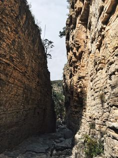 Devil's Hall at Guadalupe Mountains National Park - the Badon Hill Blog