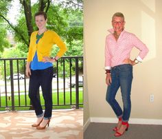 Dressed Up Jeans | Two Take on Style
