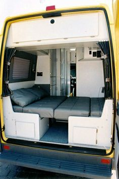 Camper Van Ideas (50) – The Urban Interior