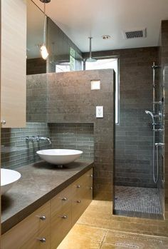 1000 images about modern bathroom decorating ideas on pinterest contemporary bathrooms - Modern bathroom decorations ...