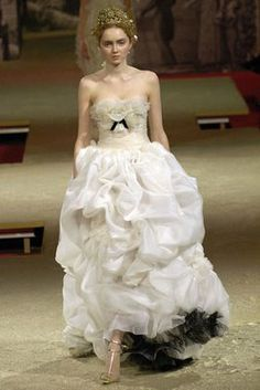 christian lacroix wedding dresses | ... master that is Lacroix. A wedding with this dress would be fabulous