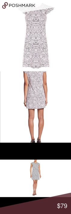 "Rebecca Taylor Dalmatian Dot dress SZ 0 Rebecca Taylor Dalmatian Dot dress SZ 0 Flutter Sleeve Blush pink Never worn 33"" shoulder to hem  17"" across under arms Rayon Rebecca Taylor Dresses"
