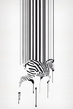 #Barcode to #Zebra #Safari Clothing by Max Henschel
