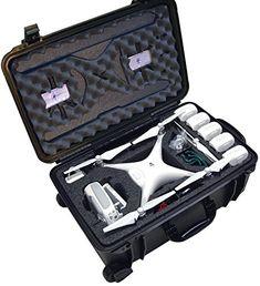 Case Club Waterproof DJI Phantom 4 Drone Wheeled Case with Silica Gel (Propellers On) - http://www.midronepro.com/producto/case-club-waterproof-dji-phantom-4-drone-wheeled-case-with-silica-gel-propellers-on/