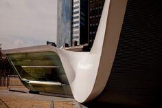 Ben Van Berkel / UNStudio's New Amsterdam Plein & Pavilion  New York