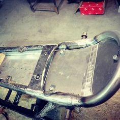 Cj250 electric box and rear frame cover #cj250 #honda_cafe_racer  #custom
