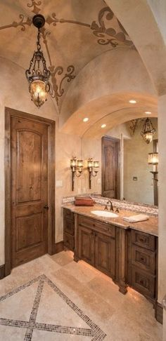 find this pin and more on my love for tuscan and old world decor and design - Tuscan Bathroom Design