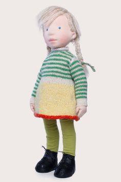Eliza Handmade cloth doll partial payment by AldegondeCeelen